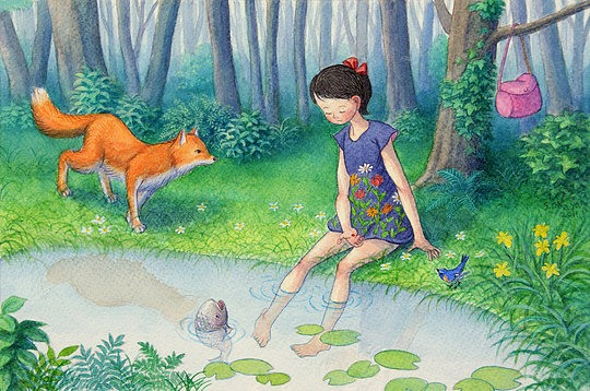 Beautiful Illustrations by Shinya Okayama