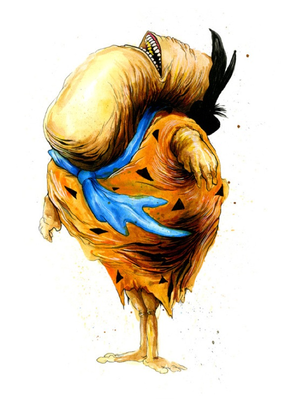 Monster Illustrations in Iconic Pop Culture by Alex Pardee