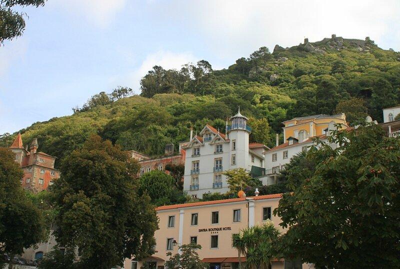 Синтра, замок Мавров (Sintra Moors castle)