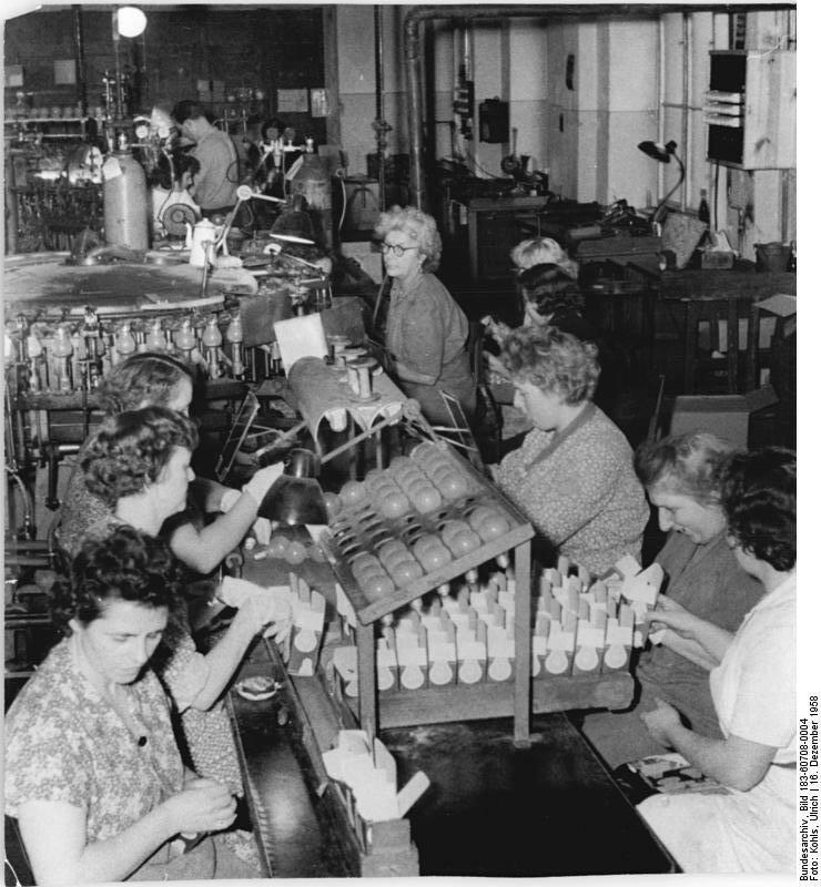 VEB Berliner Glьhlampen-Werke, Endkontrolle