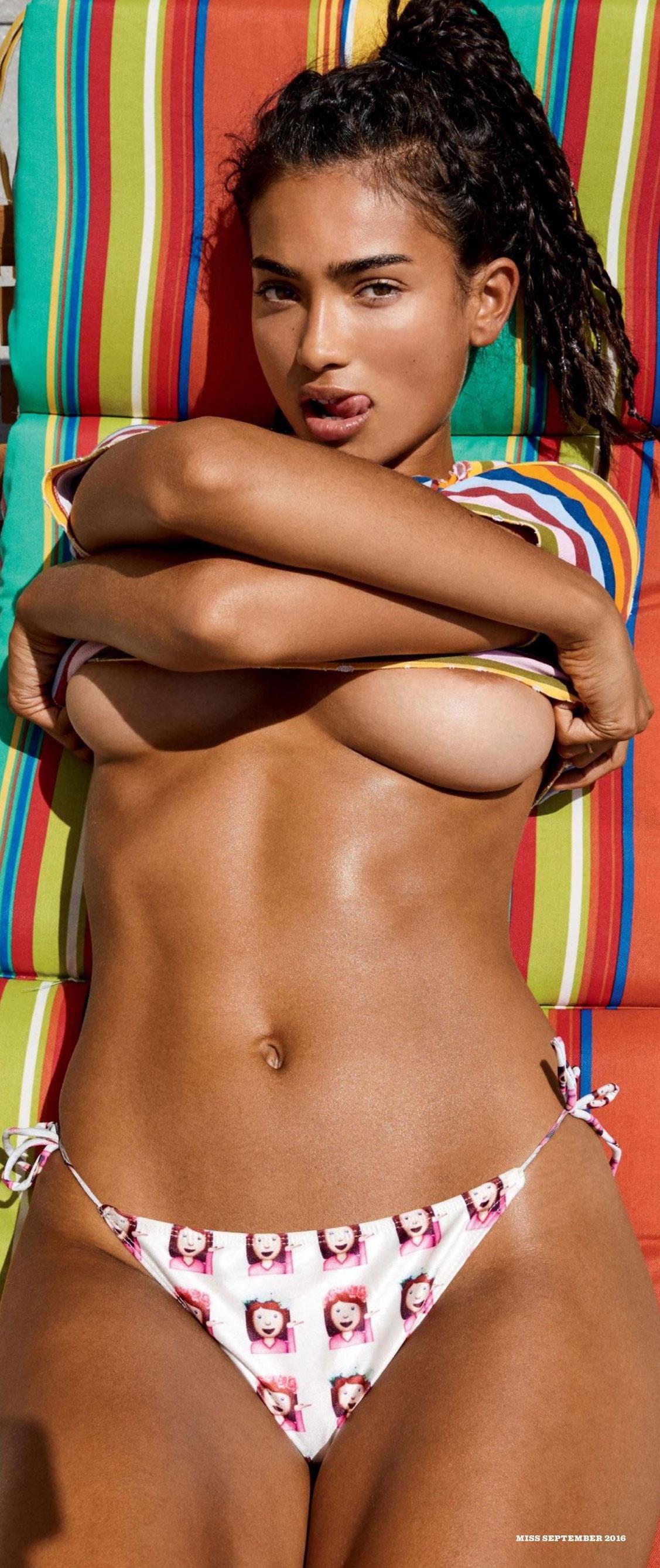Девушка месяца Келли Гейл / Kelly Gale - Playboy USA september 2016 playmate / photo by Chris Heads