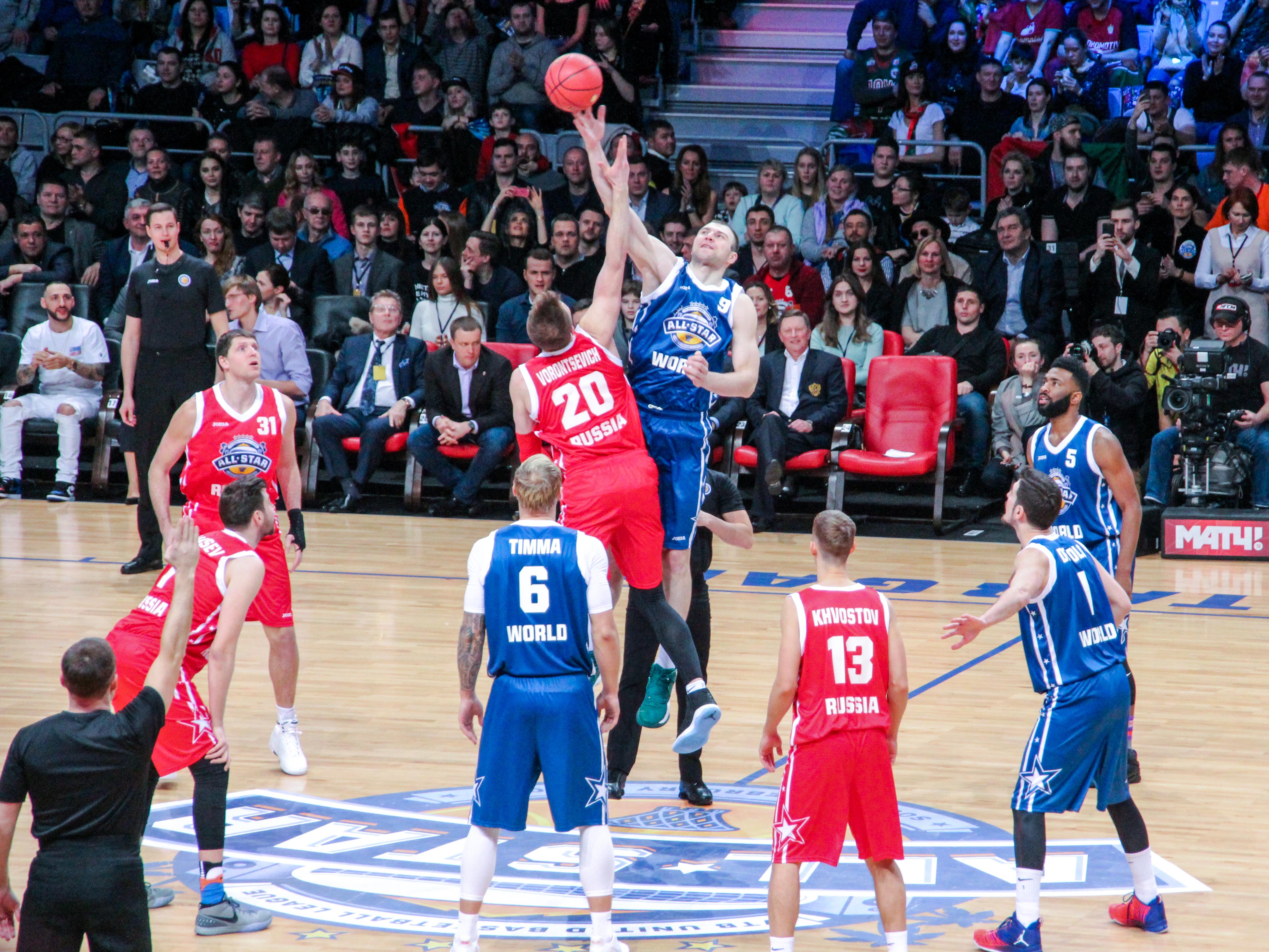 Матч всех звезд. Баскетбол
