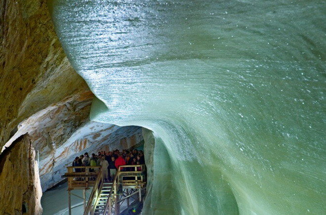 Добшинская ледяная пещера. Словакия