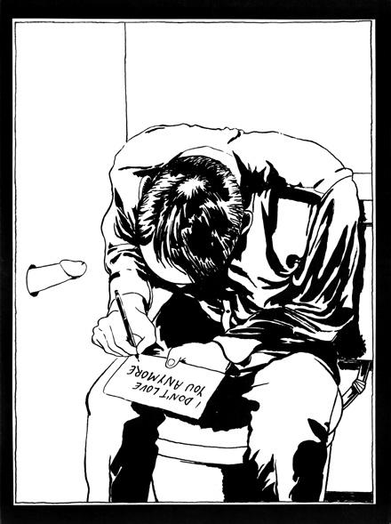 """Raymond Pettibon, """"No Mag zine #07"""", 1981 © Raymond Pettibon"""