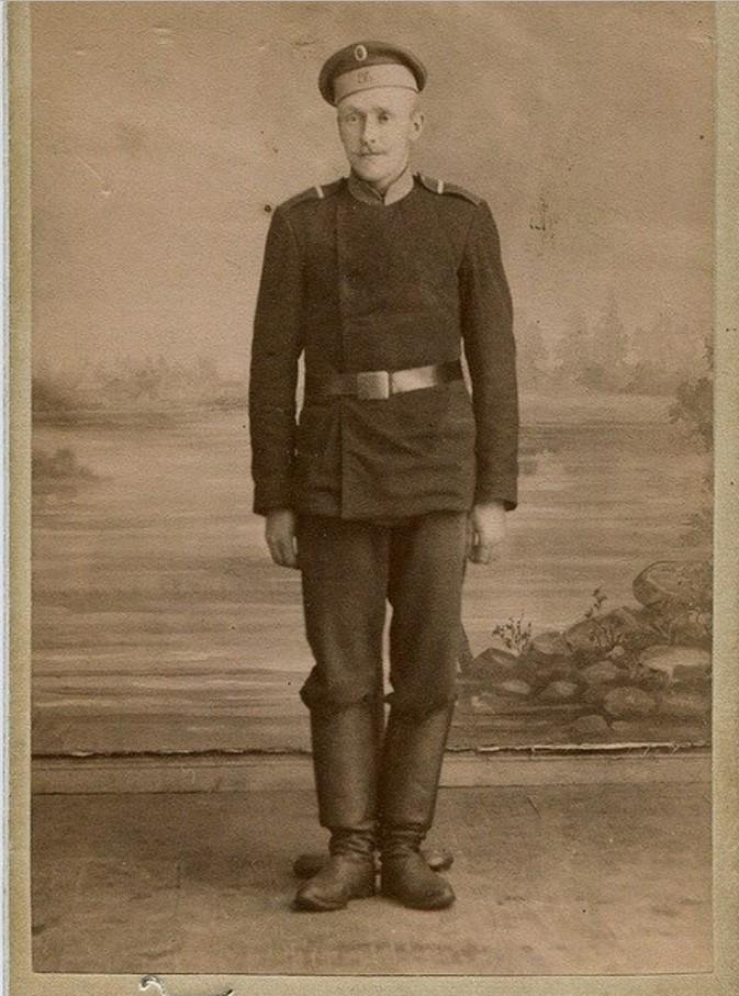 86-го пехотный Вильманстрандский полк. Ефрейтор. 1882-1904