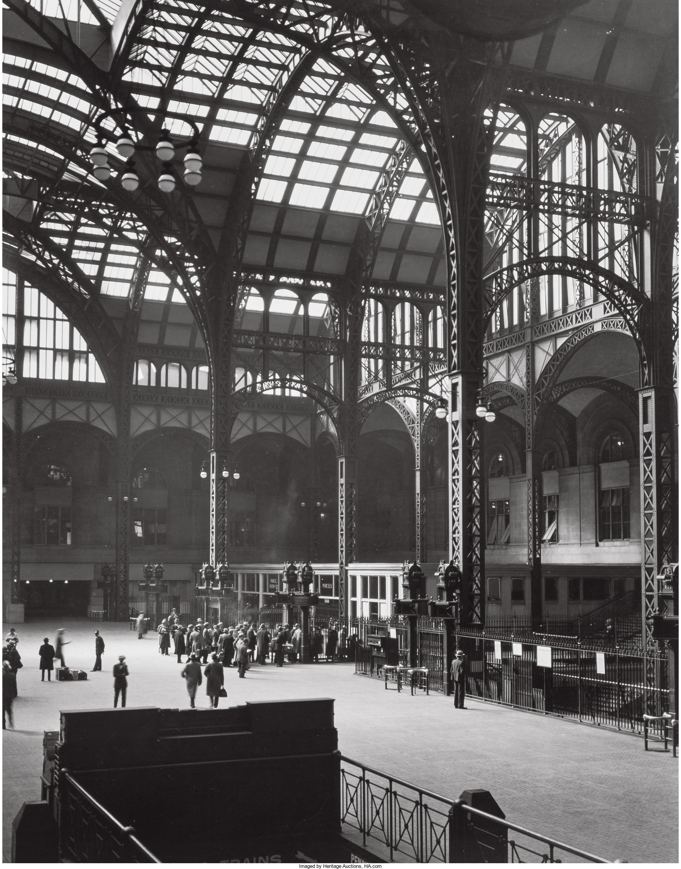 1936. Пенсильванский вокзал.  14 июля