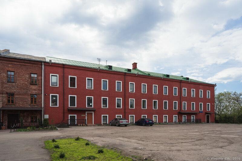 Здание бывшей гарнизонной гауптвахты. XIX в. Крутицкое подворье.