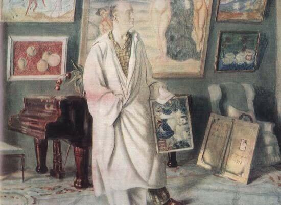 Нотгафт Ф.Ф. (коллекционер, 1918) Кустодиев.jpg
