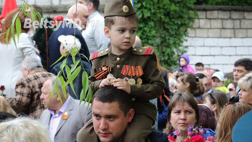 В честь 9 Мая в Бельцах прошёл торжественный парад
