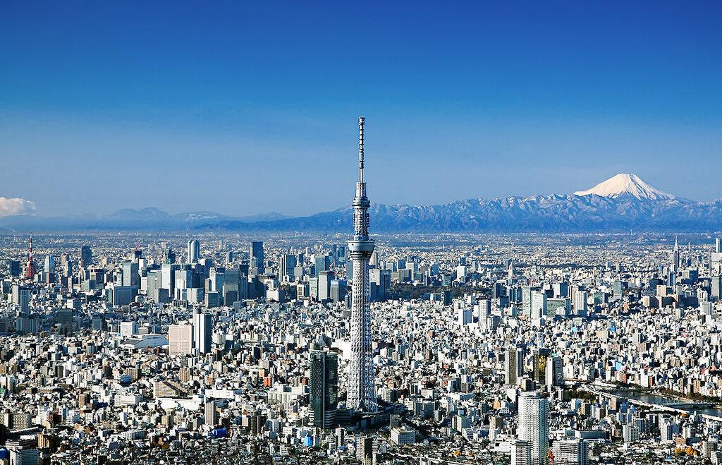 Телебашня Tokyo Skytree, Токио, Япония