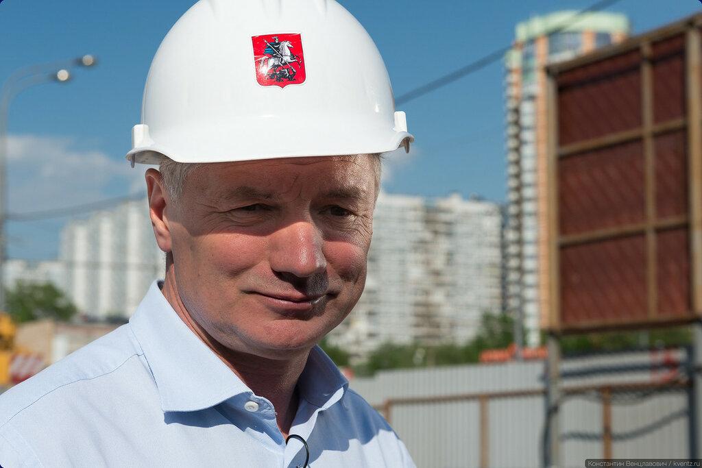 Заммэра Москвы по градостроительной политике и строительству Марат Хуснуллин