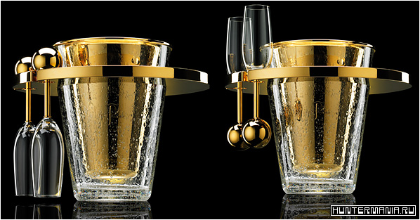 Van Perckens Nr.8 Champagne - дорогое ведерко из золота