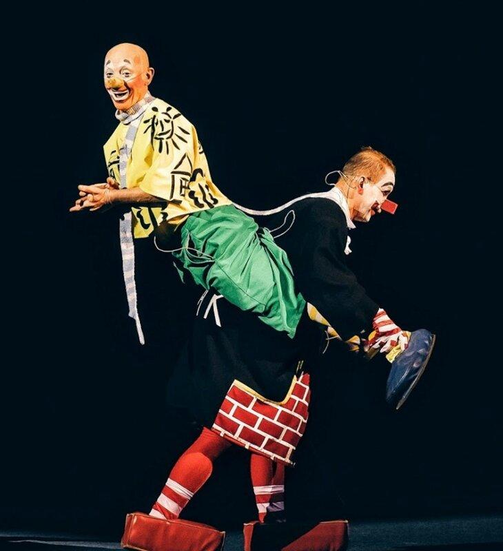 Клоуны Мик и Мак - Цирк танцующих фонтанов Аквамарин