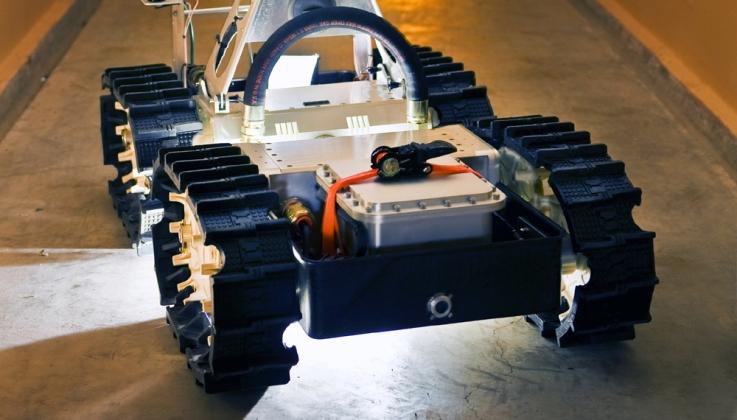Русские  ученые создадут робота для эвакуации людей приЧС