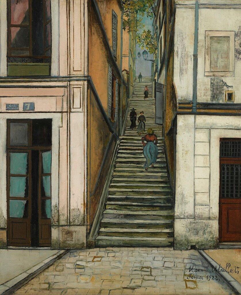 Passage Cottin, Montmartre, 1922.jpg