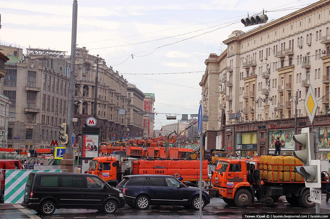 Тверская улица. Реконструкция