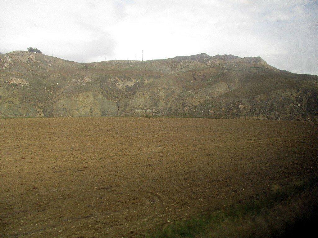 North-Western Sicily. Wheat field