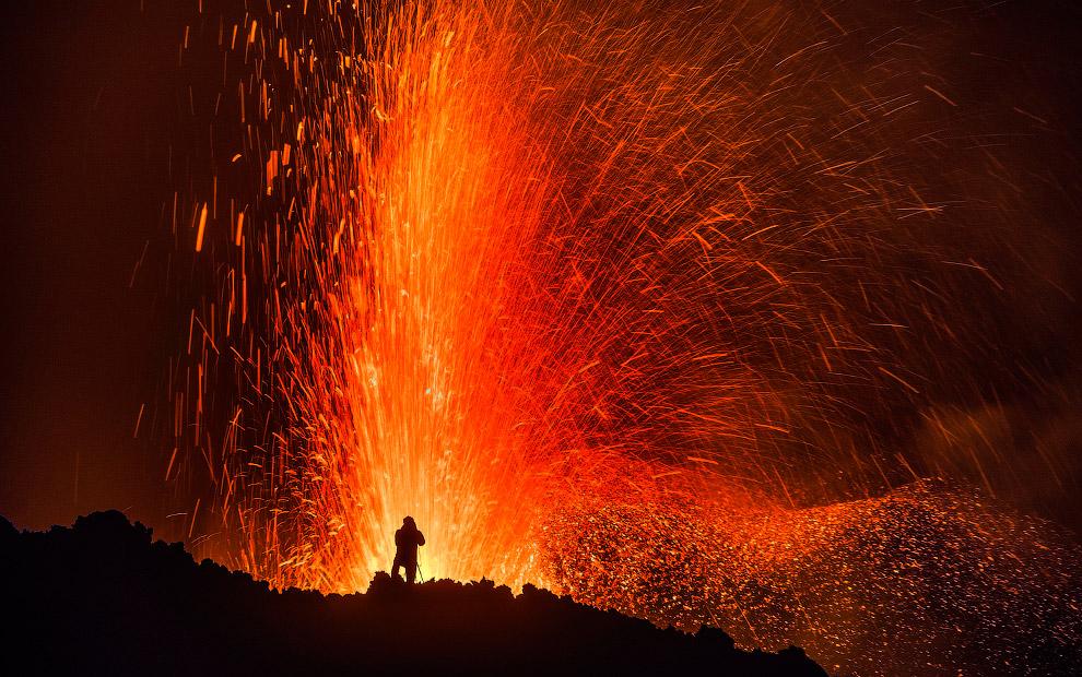 9. Забраться на вулкан несложно, но опытные туристы знают: увидеть истинную красоту этого гиган