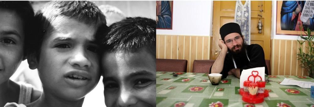 В 1993 Драгошу было 8 лет. В 2011 году, когда был сделан второй снимок, он жил в монастыре Сигла неп