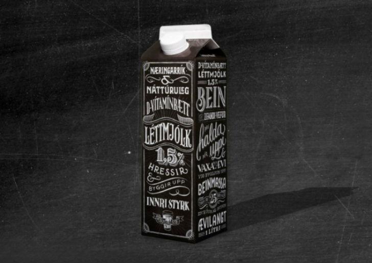 Такую оригинальную упаковку придумало рекламное агентство Ennemm в Исландии.