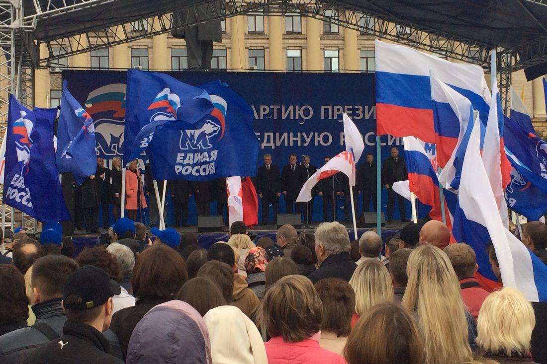 ВЗакС Петербурга проходят шесть партий— экзитпол
