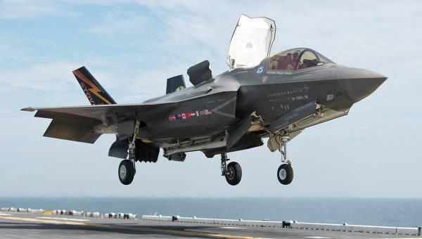 «Всепогодным» F-35 вовремя прибыть кместу назначения помешала погода