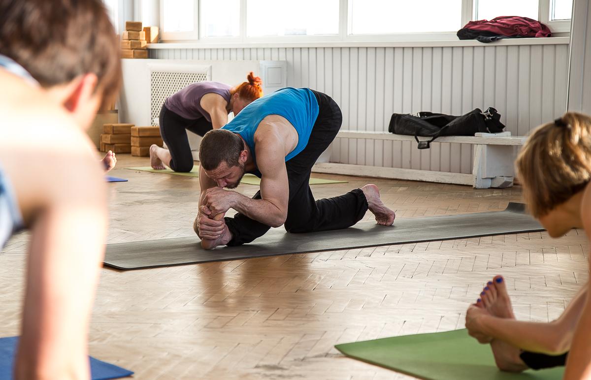 Анапа йога Сергей Кулыгин фото