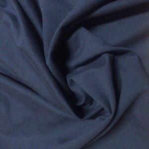 Футер 2-нитка с лайкрой Темно-синий, Состав: 72% х./б 20% п./э 8% лайкры, Ширина: 180, Плотность: 240 гр/м2, Цена  380р.