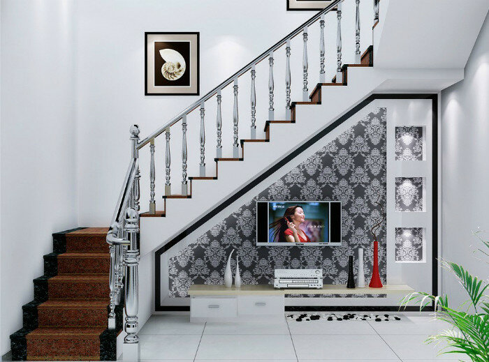 The wall design