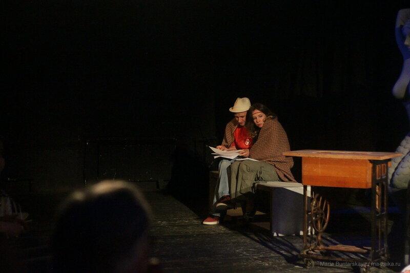 'Оптимисты', Саратов, театр драмы им.Слонова, 09 июня 2016 года