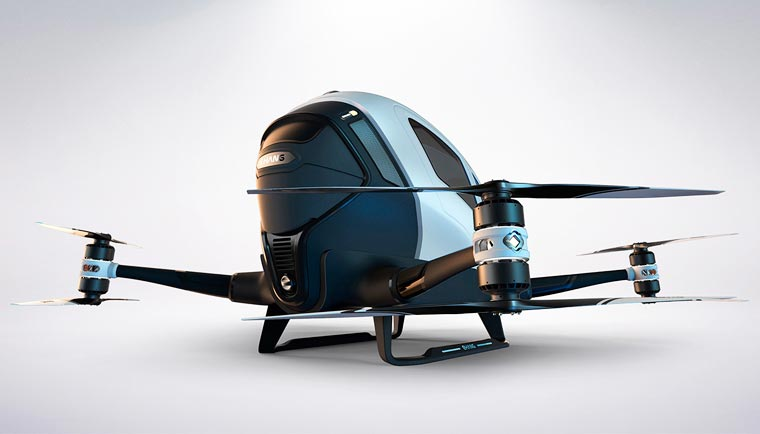 Ehang 184 - Will this giant autonomous drone be the future of transportation?