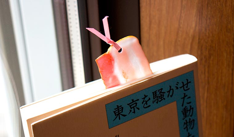 Amazing Japanese bookmarks shaped as ultra-realistic food