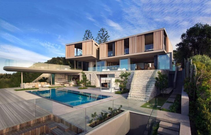 SAOTA designed this inspiring contemporary residence located in Plettenberg Bay, South Africa, in 20