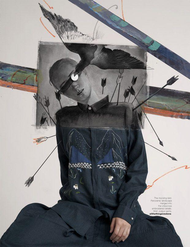 Dualism by Ryan Tandya & Varsam Kurnia for Indonesian Harper's Bazaar