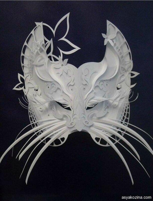 Бумажные маски