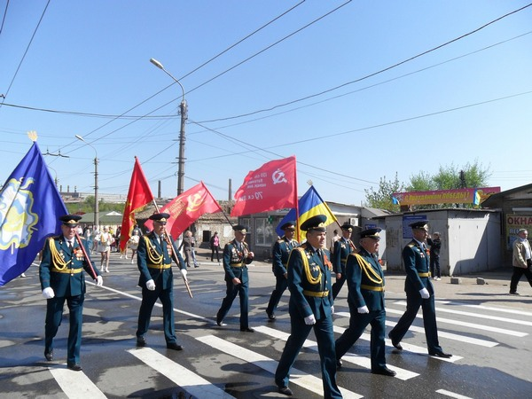 Празднование Дня Победы в Алчевске 2011 год