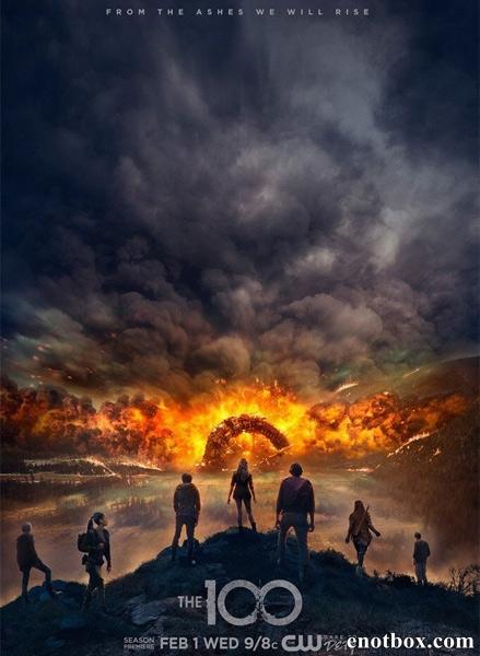 Сотня / The 100 - Полный 4 сезон [2017, WEB-DLRip | WEB-DL 1080p] (LostFilm)