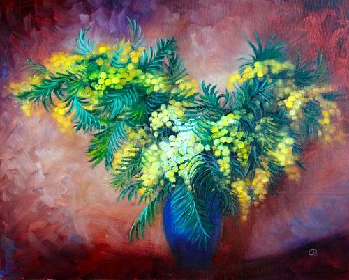Svetlana Razumova. Mimosa.jpg