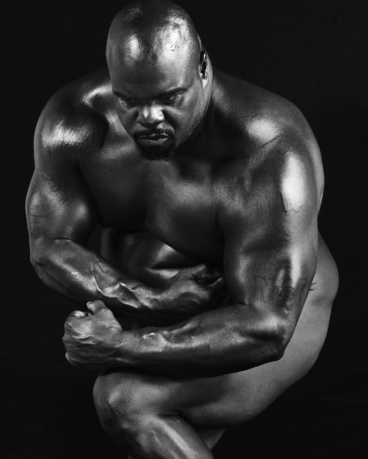 ESPN Magazine The Body Issue 2016 - Vince Wilfork / Винс Уилфорк - Культ тела журнала ESPN