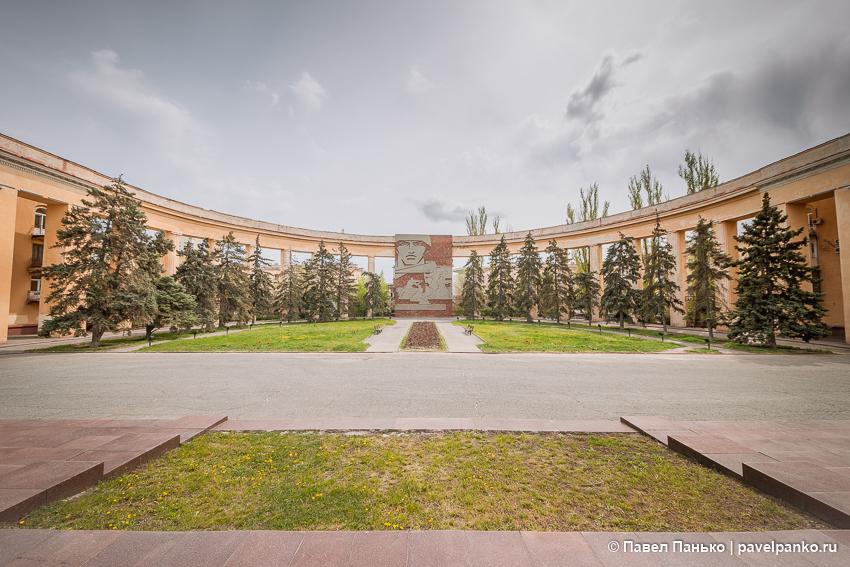 волгоград архитектура панорама сталинградская битва