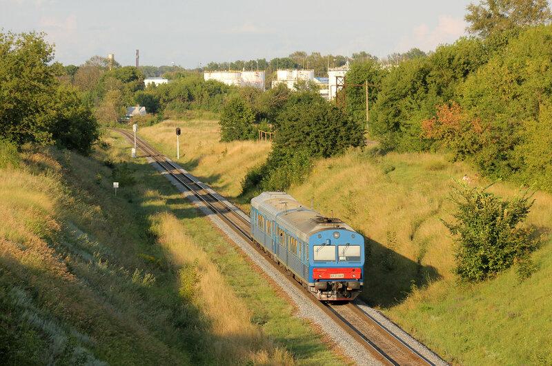 АЧ2-069 рейсом Брянск - Орёл на перегоне Кромская - Орёл