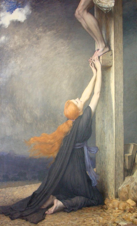 The Sorrows of Mary Magdalene (Museo Nacional de Bellas Artes (Chile)