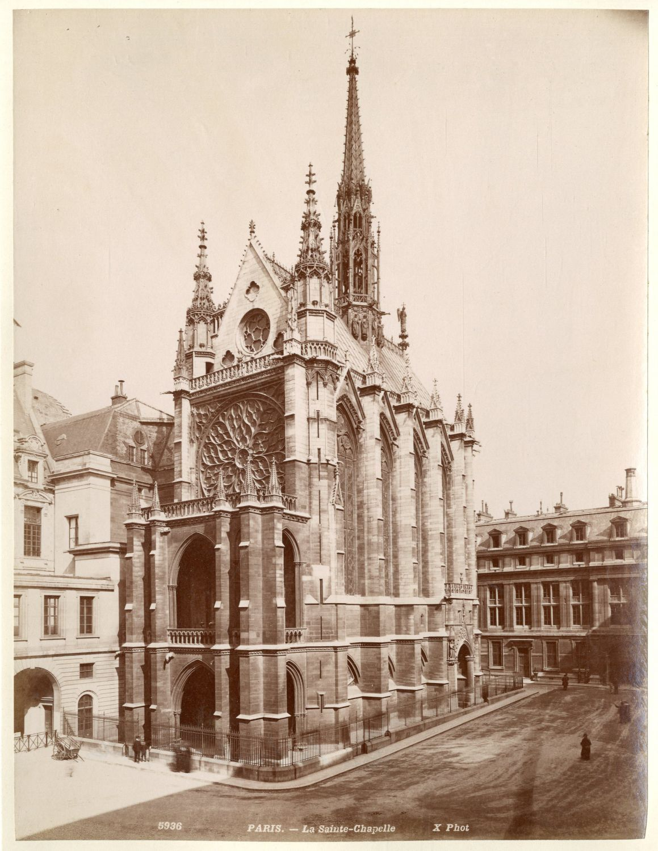 1880. Часовня Сент-Шапель
