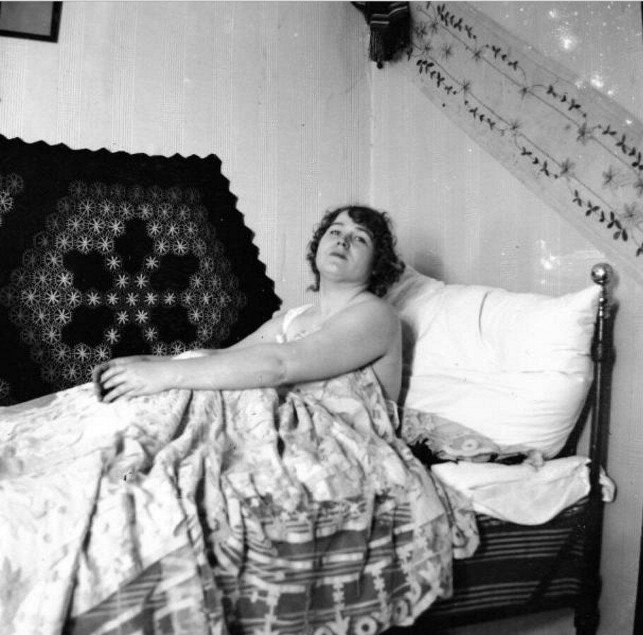 1904. Вешняки. Женский портрет