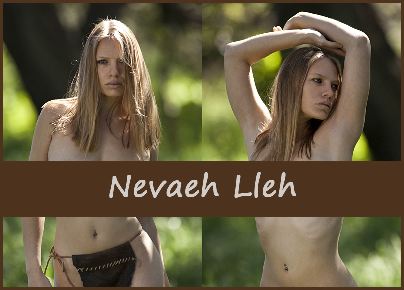 Американская модель Nevaeh Lleh
