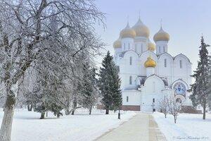 Морозно в Ярославле ...