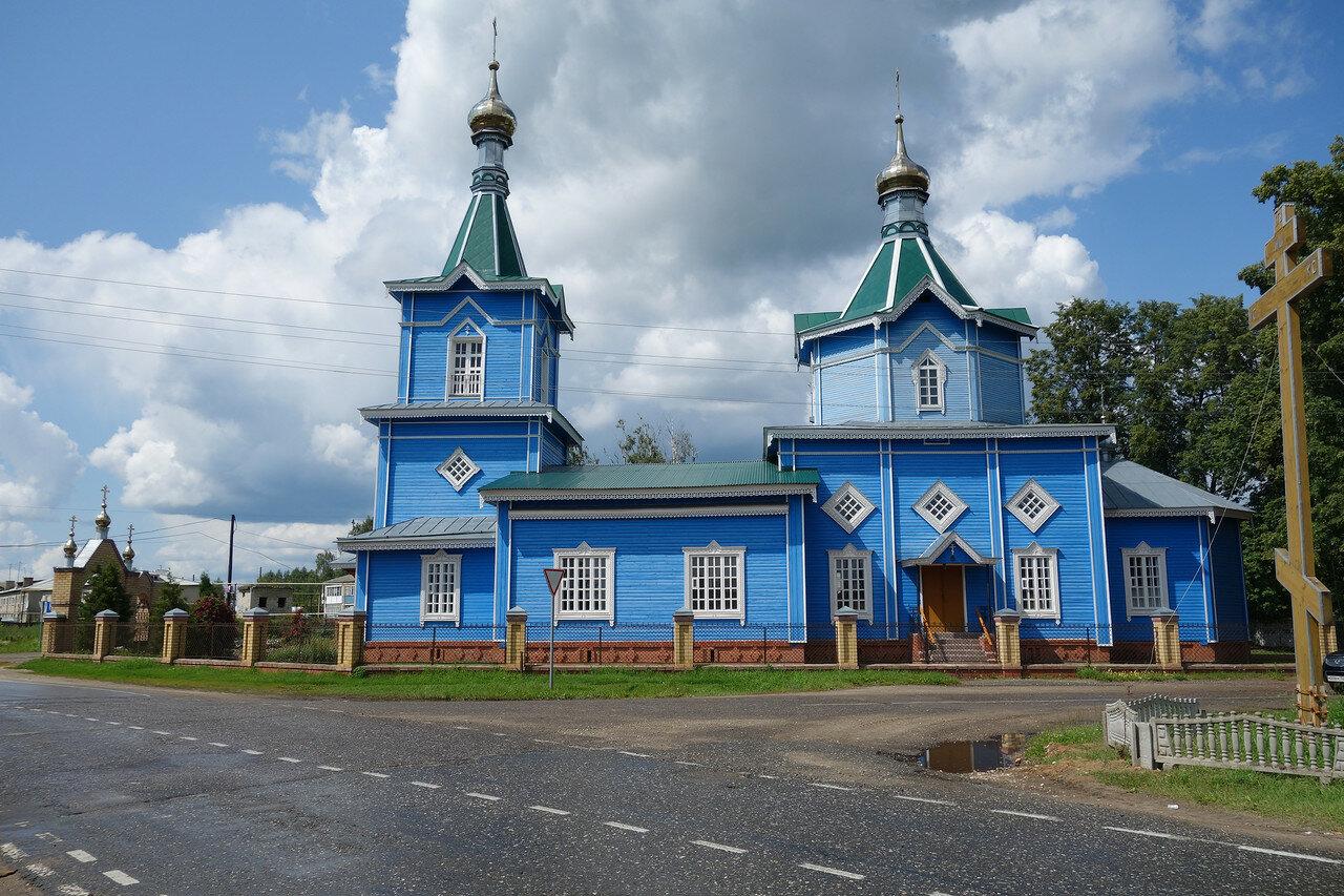 деревянный храм, Ямново