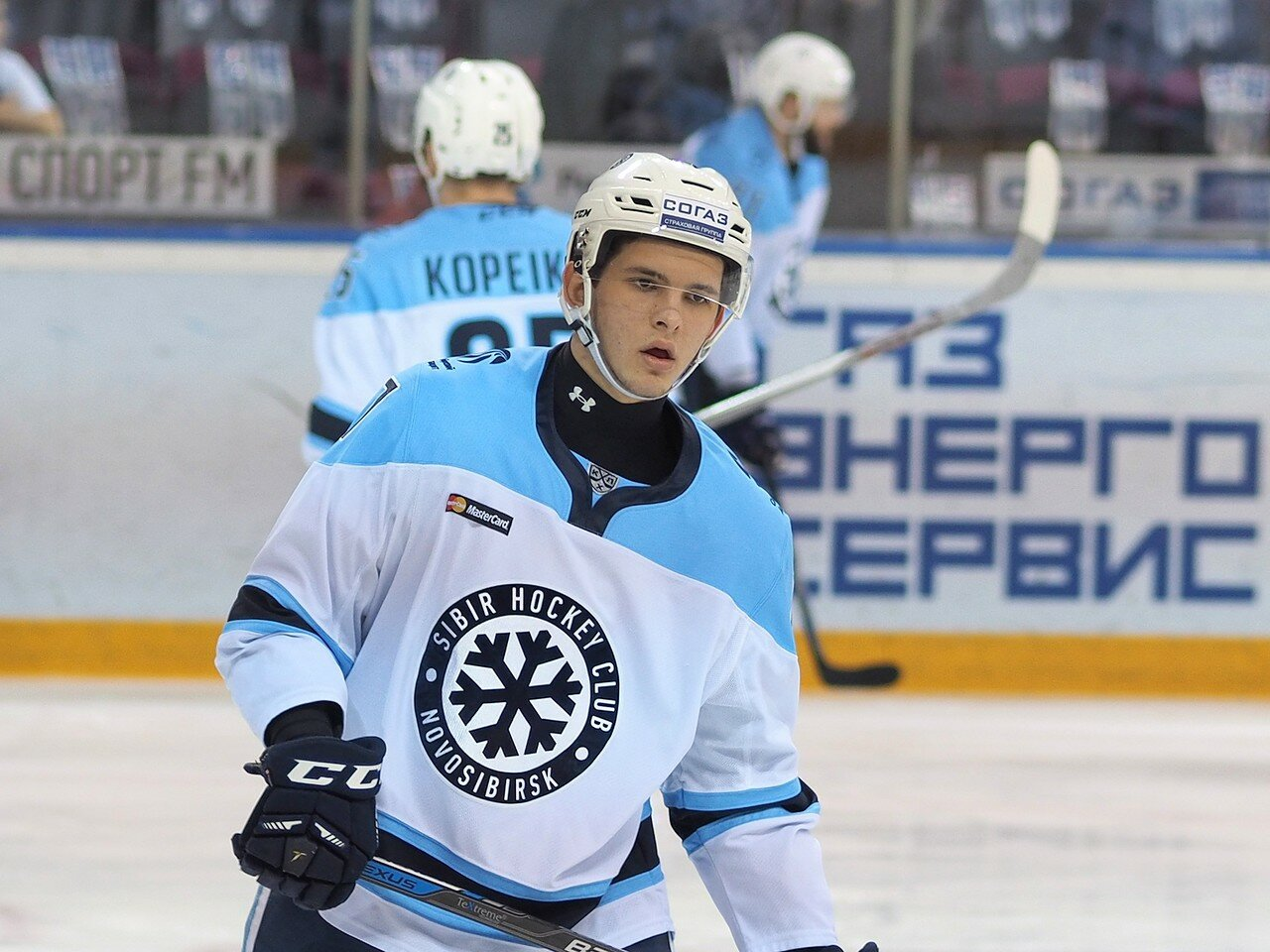 19Восток 1/2 плей-офф Металлург - Сибирь 08.03.2016