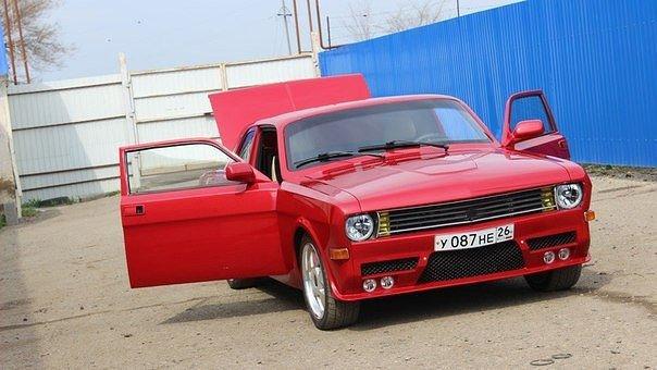 Очень интересный проект на базе ГАЗ-24