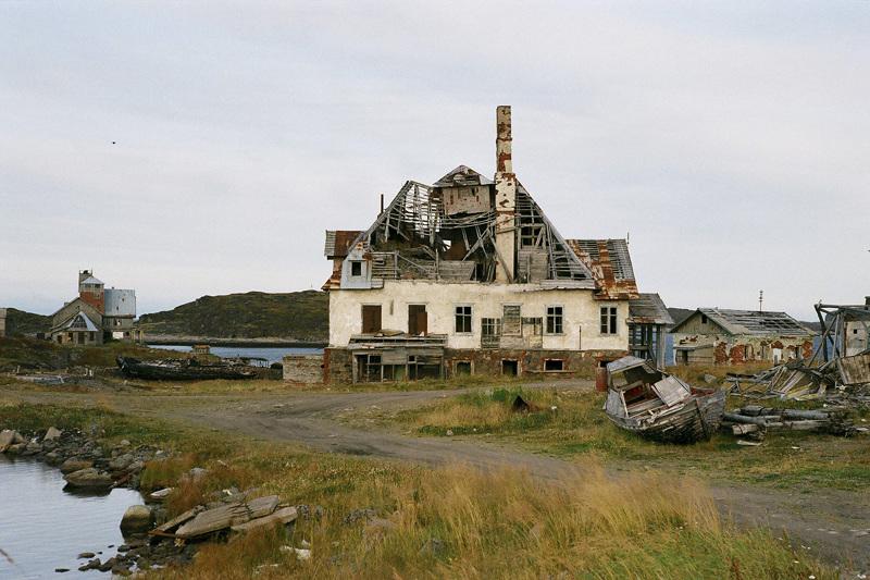 Заброшенные российские деревни